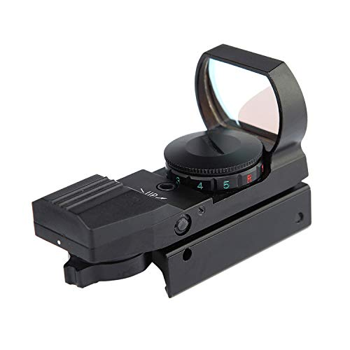 Red Green Dot Sight Reflex Rifle Scope with 4 Reticles Waterproof & Shockproof Function