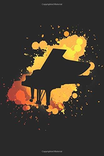 Piano Journal: Virtual piano simulator has 85 piano keys logbook