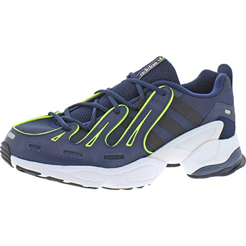 adidas Mens EQT Gazelle Lace Up Sneakers Casual Sneakers, Blue, 11.5