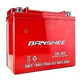 Banshee Replaces YTX20L-BS Motorcycle Battery for YAMAHA XV17AT Road Star, Silverado (2004-2007)