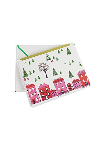 Kate Spade Holiday Christmas Gift Cards Set Holiday Village