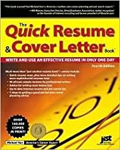 The Quick Resume & Cover Letter Book 4th (fourth) edition Text Only
