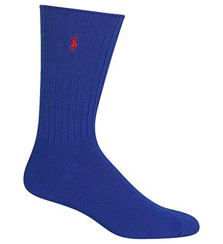 Preisvergleich Produktbild POLO RALPH LAUREN Classic Crew Socken aus Baumwolle - Blau - Einheitsgröße