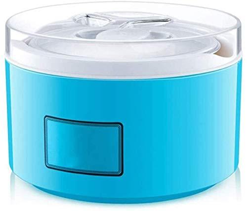 ZXL Joghurtbereiter,Glas, robuster und langlebiger Edelstahlliner Selbstgemachte Joghurtfermentation in Zwei Farben erhältlich