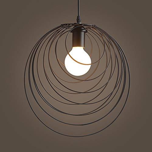 Loft Retro Vintage Colgante de Lámparas de Luz Industrial de Hierro Forjado Techo Lámpara de Suspensión Bar Cafe Restaurante Droplight Inicio Techo Accesorio de Iluminación
