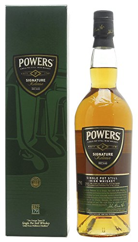Powers Signature Release Single Pot Still Irish Whisky mit Geschenkverpackung (1 x 0.7 l)