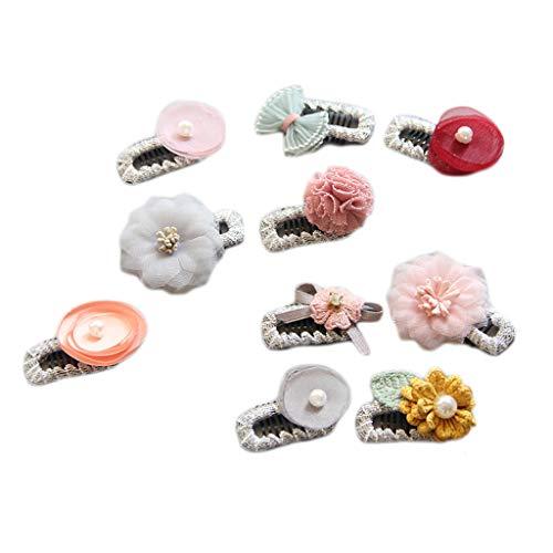JOYKK 10 Stks Handleiding DIY Baby Clip Veiligheid Top Clips Kinderen Haaraccessoires Haarspeld Meisjes Headdress