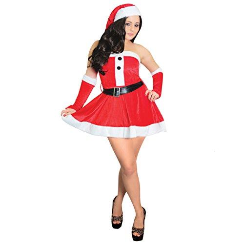 Tallon-Costume da Babbo Natale, Donna