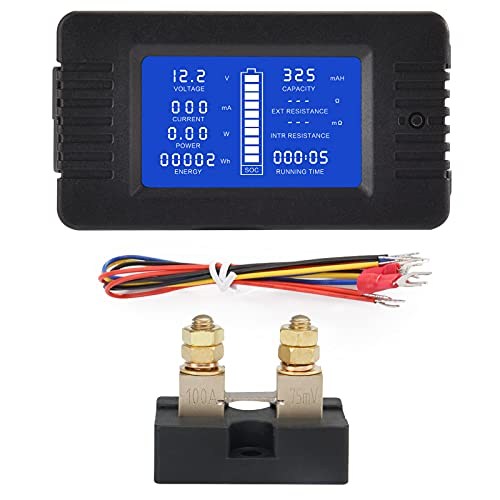 CGELE DC Multifunction Battery Monitor...