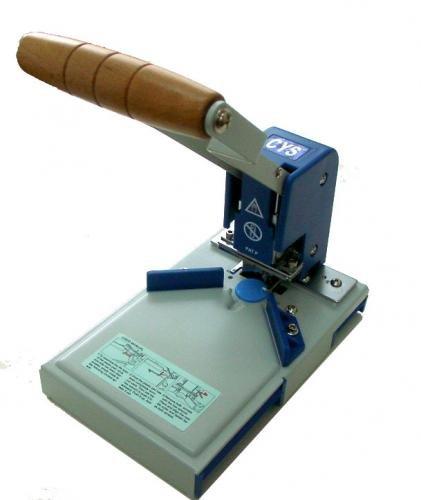 業務用 卓上 角丸(R6) コーナー カッター/パンチ加工/自動プレス(カード固定機能)
