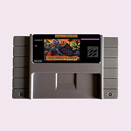 High Quality 16 Bit Super Ghouls N Ghosts NTSC Big Gray Game Card For USA Version Game Player product image