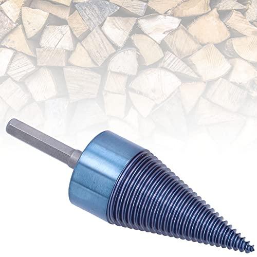 Twist Firewood Splitter, Bohrer für Kegelreibahle Stanzbohrer, langlebige Haltbarkeit, für Elektrobohrkeilbohren Holzbearbeitungswerkzeug