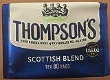 Thompson's Family Teas Scottish Blend 80 Tea Bags