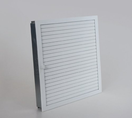 CB Warmluftgitter 45x45, weiß, Standard