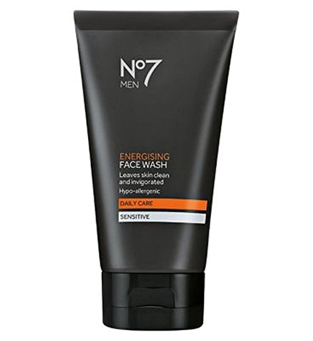 ぞっとするような決済かけるNo7 Men Energising Face Wash 150ml - 洗顔料の150ミリリットルを通電No7の男性 (No7) [並行輸入品]