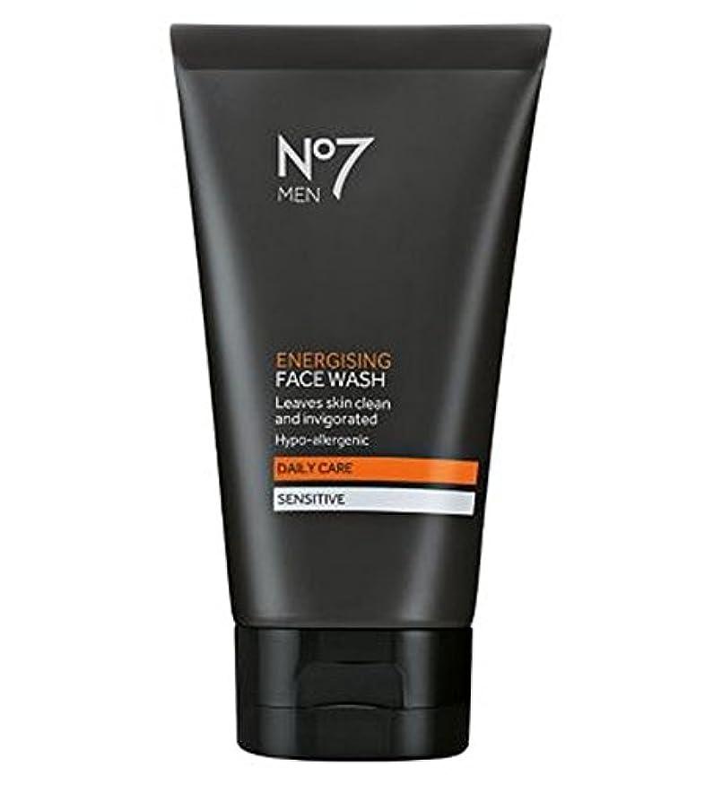 ウサギ欺くライターNo7 Men Energising Face Wash 150ml - 洗顔料の150ミリリットルを通電No7の男性 (No7) [並行輸入品]