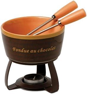 Jo!e Chocolate Dreams Fondue Set - Orange