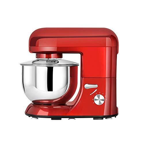 SHYOD Batidora de masa automática, batidora de masa, batidora eléctrica de escritorio para el hogar, batidora de mantequilla para hornear, batidora de Chef