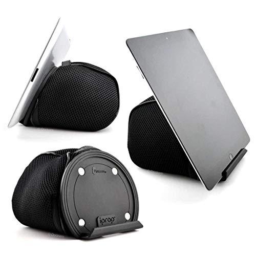 iProp Universal Tablet Stand, Stand universal de tableta, Compatible con tableta delgada de 18 mm, negro