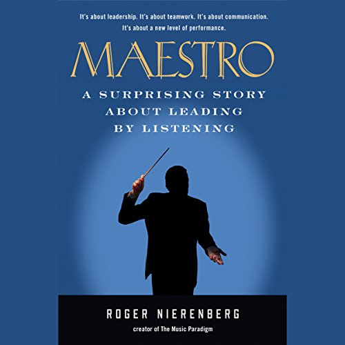 Maestro audiobook cover art