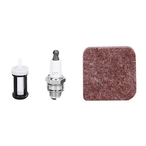 Mumusuki luchtfilterset brandstoffilter geschikt voor Stihl FS38 FS45 FS46 FS55 HS45 FC55 accessoires voor grasmaaiers in de open lucht