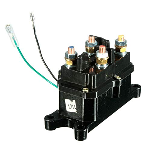 XFCNOI, Universal 12V solenoide relé contactor Torno Rocker Switch Thumb en Forma for el ATV/UTV