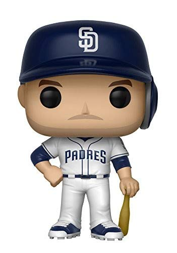 Funko - Major League Baseball-Wil Meyers-New York Toy Fair Figur, Mehrfarbig, 9 cm, 30237
