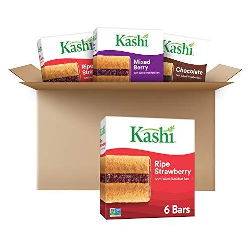 Kashi Chewy Granola Bars, 4 Flavor Variety Pack, Whole Grain Snacks (24 Bars)