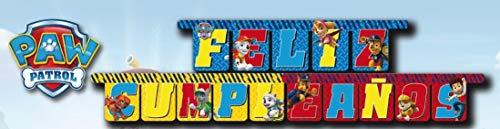 Guirnalda Feliz Cumpleaños Patrulla Canina , Modelos/colores Surtidos, 1 Unidad