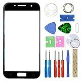 MovTEK Kit de Remplacement de Ecran Tactile Vitre Avant pour Samsung Galaxy A3 2017 A320 SM-A320F...