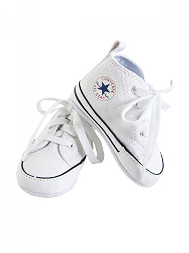 Converse , Scarpine Prima Infanzia Bambino, Bianco (Bianco), 3 UK