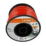Stihl - Hilo de nailon redondo rojo de 2,7 mm, 215 metros