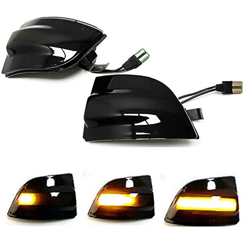 Luz de señal de giro LED dinámica, indicador de espejo retrovisor de ala lateral, luz intermitente para F-ord Focus 2 MK2 2004-2008, F-ord Focus 2 C-MAX 2003-2007, F-ord C-MAX 2007-2010