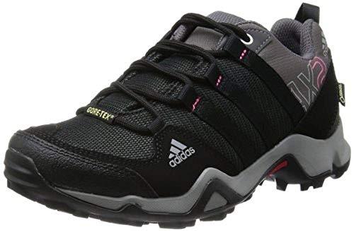 adidas Damen AX2 GTX Trekking- & Wanderhalbschuhe, Grau (Carbon S14/Black 1/Bahia Pink S14), 37 1/3 EU