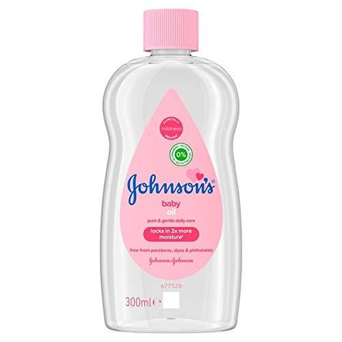 JOHNSON S Baby Oil - 300ml Huile Hydratante Bébé