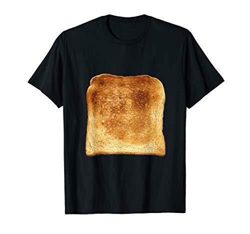 Eine Scheibe getoastetes Toast Brot witziges Tshirt