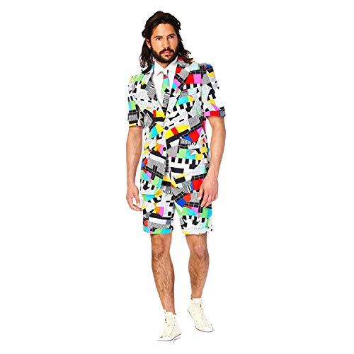 OppoSuits Herren Sommer Testival Designer Anzug Alle Größen - Verschiedene, UK46 / EU56