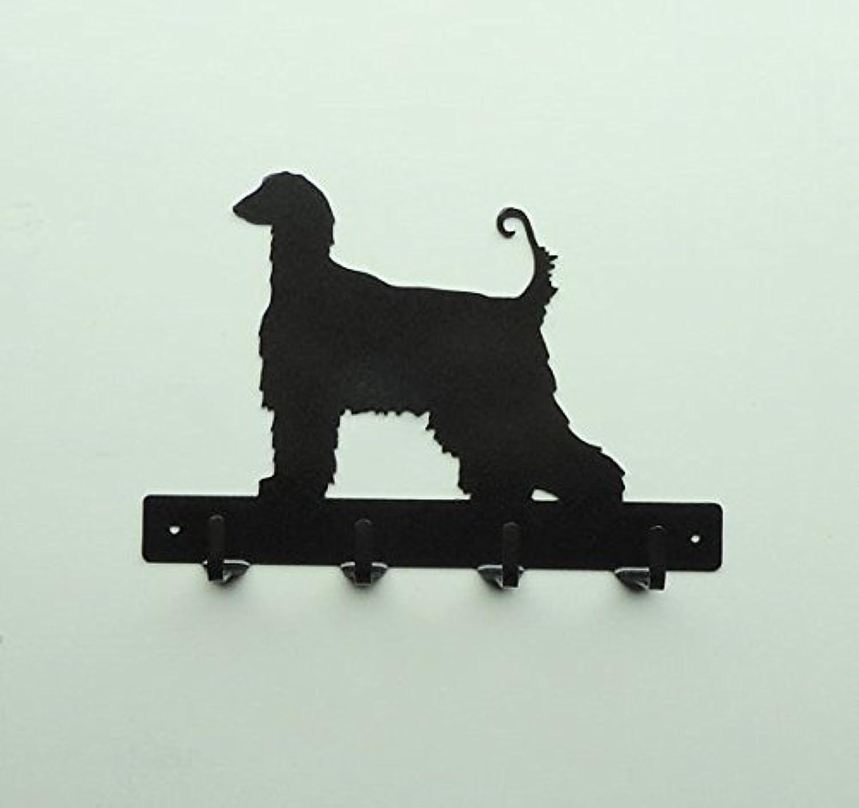 Afghan Hound Dog Leash Rack