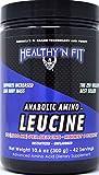 HEALTHY 'N FIT Anabolic Amino LEUCINE - Pure Instant L-Leucine, 300g (42 Servings)
