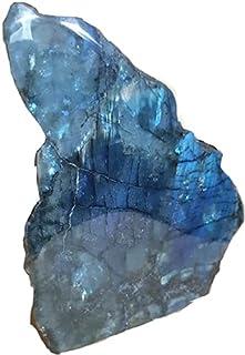 Pierre de Labradorite forme libre bloc à poser,environ 5 cm, Pierre de protection et Pierre DES Thérapeuthes