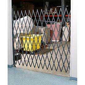 Global Industrial 7-1/2'W Single Folding Security Gate, 8'H