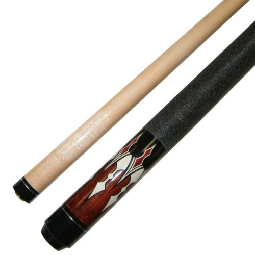"""48"""" Short 2 Piece Hardwood Canadian Maple Pool Cue Billiard Stick 19 Ounce"""