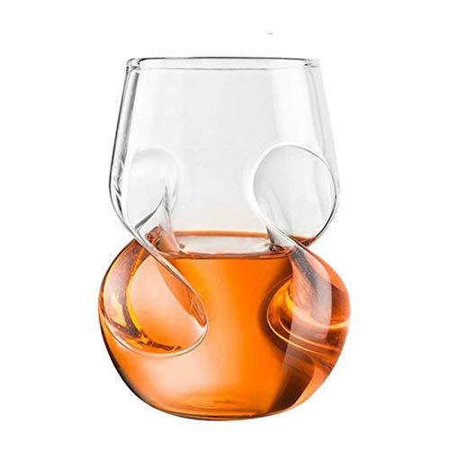 WxberG Vasos para bebidas de 16 onzas para zumo, cócteles, cerveza, café helado – vasos de vidrio para cocina y bar – vasos de vidrio verde transparente, juego de 2 piezas