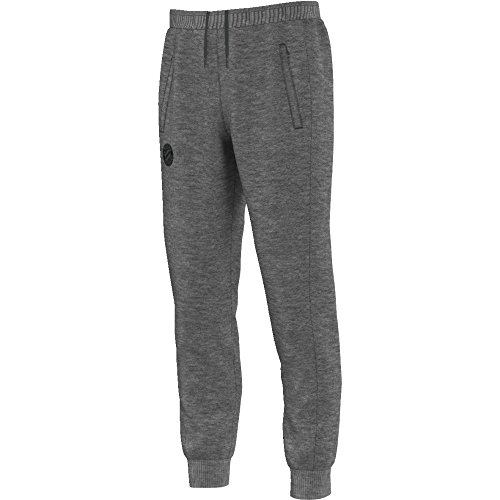 adidas Herren FC Bayern Sweat Pant Trainingshose, Dark Grey Heather, S