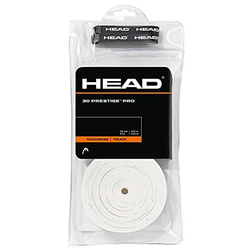 HEAD Unisex-Erwachsene 30 Prestige Pro Griffband, White, Einheitsgröße