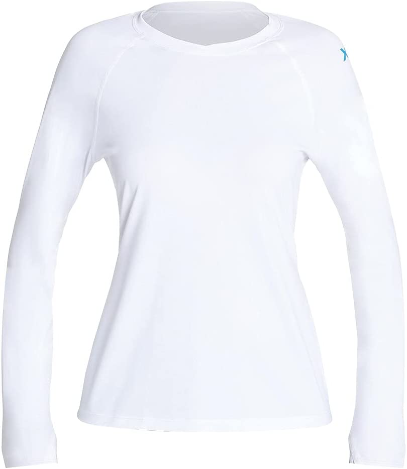 XCEL Women's Heathered Ventx Long Sleeve Top