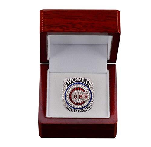 HW Anillo de Accesorios de joyería para Hombres, Chicago Champion Ring,10#