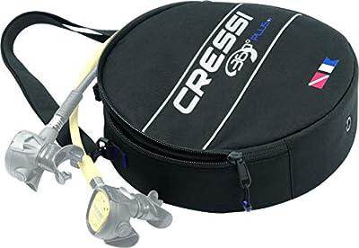 Cressi 360 Regulator Bag, Black/red