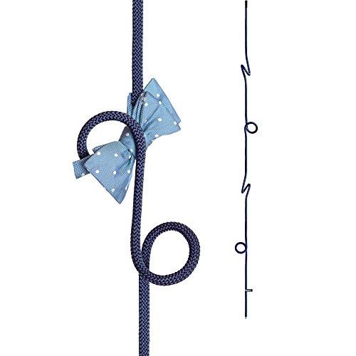 Loop Rope   Perchero colgante de cuerda de altura regulable   azul
