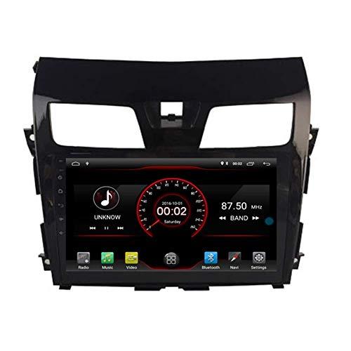 In Dash Android 10 Car DVD Player Sat Nav Radio Unidad Principal NavegaciKLLoacute;n GPS EstKLLeacute;REO para Nissan Altima Teana 2013 2014 2015 2016 2017 Soporte Bluetooth SD USB Radio WiFi DVR 10